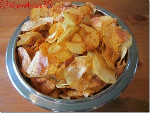 Как приготовить чипсы в домашних условиях Вегетарианские рецепты