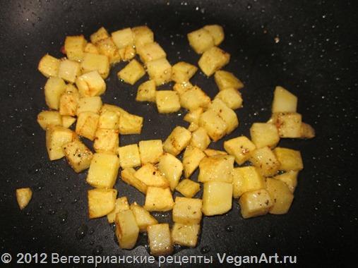 Жаренный картофель