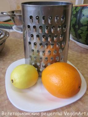 Апельсин с лимоном