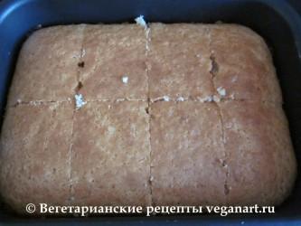 Разрезанный бисквит