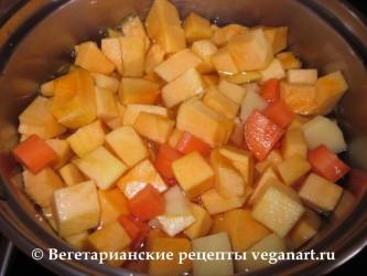 Варим овощи