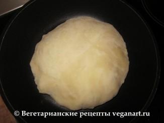 Надувается. Хачапури с сыром