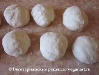 Шарики из теста. Хачапури с сыром