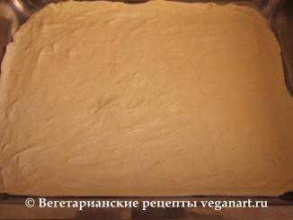 Сдобное тесто без яиц